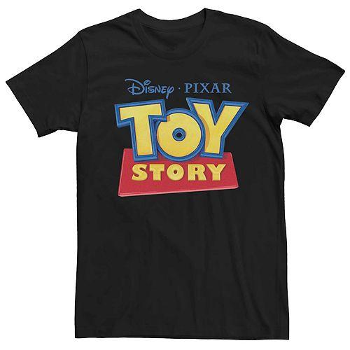 Men's Disney Pixar Toy Story Classic Movie Logo Graphic Tee