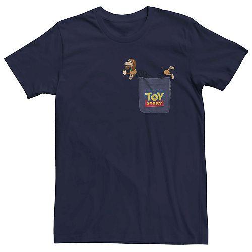 Men's Disney Pixar Toy Story Slinky Dog Pocket Tee