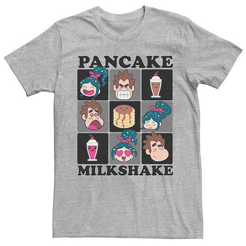 Men's Disney Wreck It Ralph 2 Pancake Milkshake Squared Graphic Tee