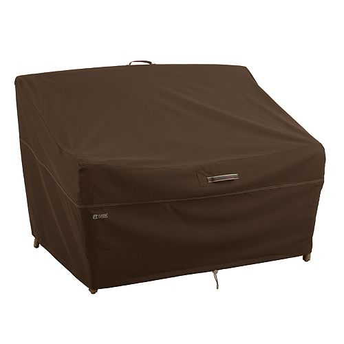 Classic Accessories Madrona Large RainProof Deep Seated Patio Loveseat Cover