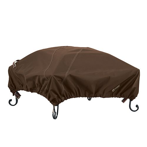 Classic Accessories Madrona RainProof Square Fire Pit Cover