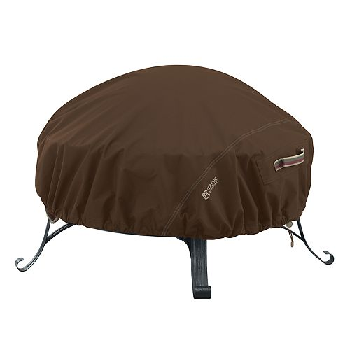 Classic Accessories Madrona Large RainProof Round Fire Pit Cover