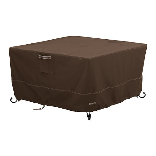 Classic Accessories Madrona RainProof Square Fire Pit Table Cover