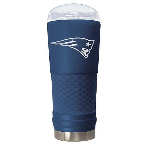 NFL New England Patriots 24oz Color Blitz Draft Tumbler