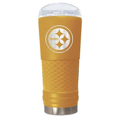 NFL Pittsburgh Steelers 24oz Color Blitz Draft Tumbler