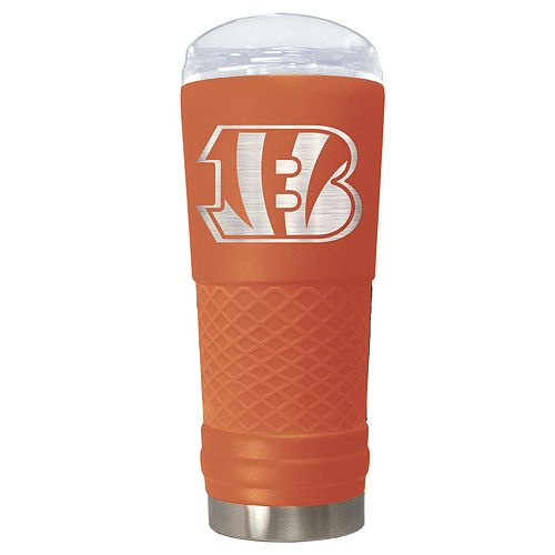 NFL Cincinnati Bengals 24oz Color Blitz Draft Tumbler