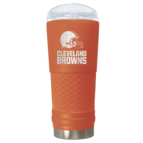 NFL Cleveland Browns 24oz Color Blitz Draft Tumbler