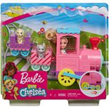 Barbie® Club Chelsea Doll and Choo-Choo Train Playset