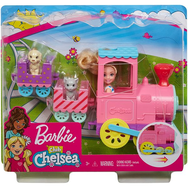 Barbie Club Chelsea Doll And Choo Choo Train Playset