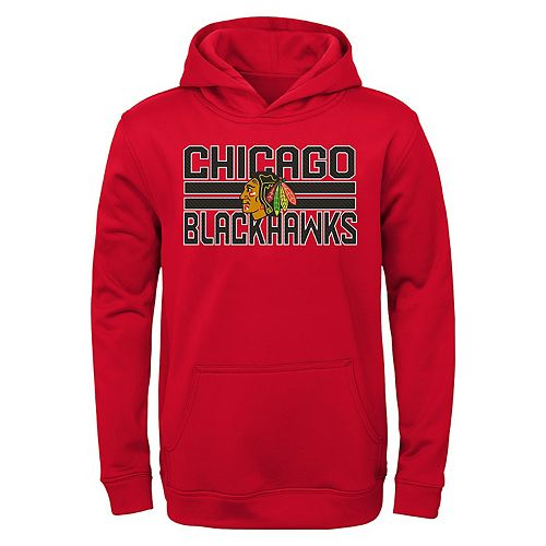 Boys 4-20 Chicago Blackhawks Wordmark Hoodie