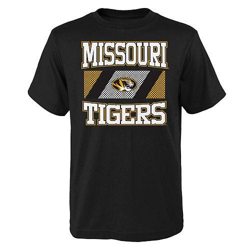 Boys 4-20 Missouri Tigers College Team Pride Tee
