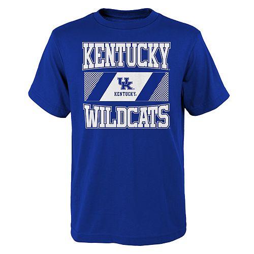 Boys 4-20 Kentucky Wildcats College Team Pride Tee