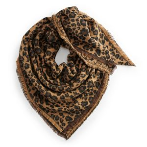 Women's Apt. 9® Animal Print Jacquard Scarf