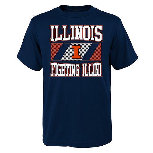 Boys 4-20 Illinois Fighting Illini College Team Pride Tee