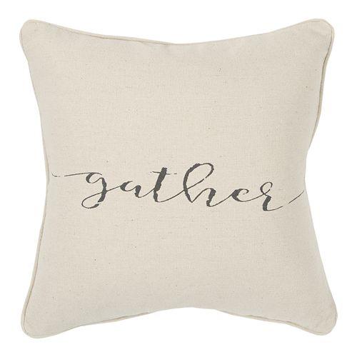 Rizzy Home Gather Throw Pillow