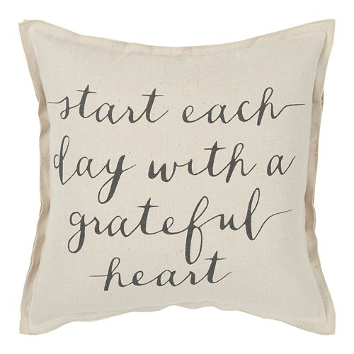 Rizzy Home Start Day Throw Pillow