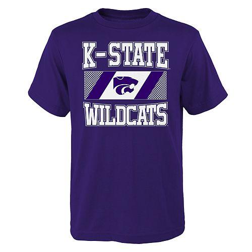 Boys 4-20 Kansas State Wildcats College Team Pride Tee