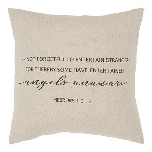 Rizzy Home Hebrews 1 3:2 Throw Pillow