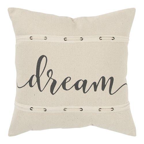 Rizzy Home Ashley Throw Pillow