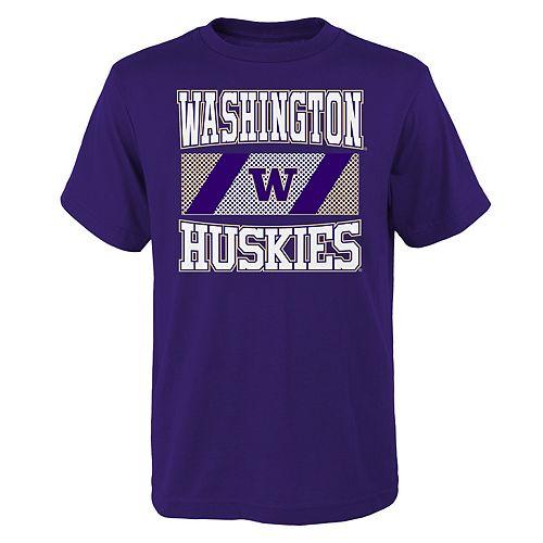 Boys 4-20 Washington Huskies College Team Pride Tee