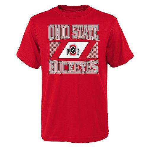 Boys 4-20 Ohio State Buckeyes College Team Pride Tee