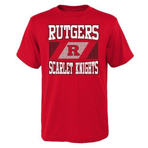 Boys 4-20 Rutgers Scarlet Knights College Team Pride Tee