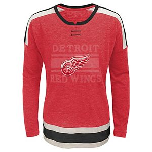 Girls 7-16 Detroit Red Wings Celly Tee