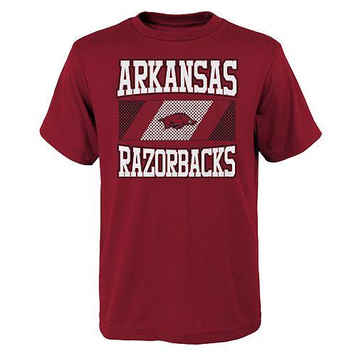 Boys 4-20 Arkansas Razorbacks College Team Pride Tee