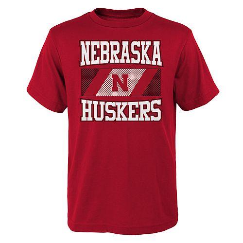 Boys 4-20 Nebraska Cornhuskers College Team Pride Tee