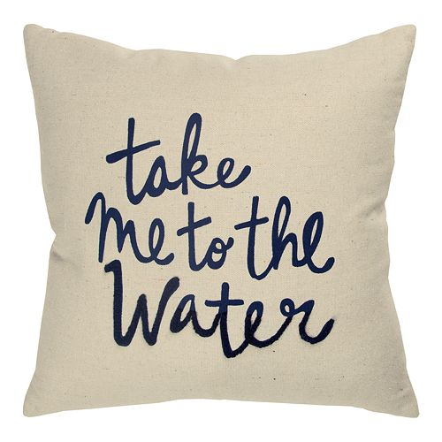 Rizzy Home Nancy Throw Pillow