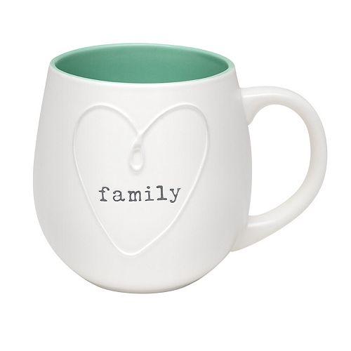 Enchante Family Heart Mug