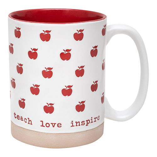 Enchante Teach Love Inspire Mug