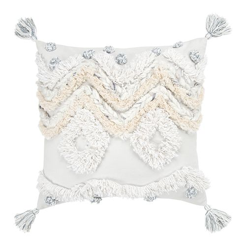 Rizzy Home Lisa Throw Pillow