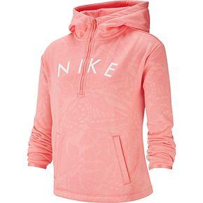 Nike Girls' 7-16 Dri-FIT Therma Half-Zip Training Hoodie