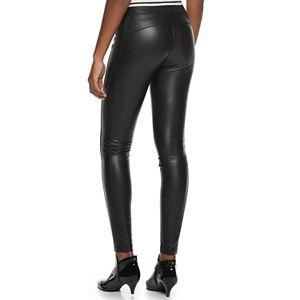 Juniors' Zip Hem Ponte Mudd® Legging