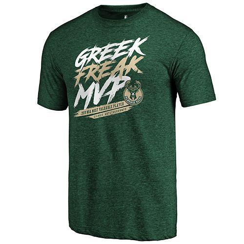 Men's Milwaukee Bucks Giannis Antetokounmpo League MVP Tee