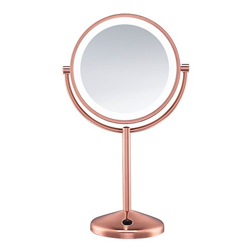 Conair Reflections LED Rose Gold Makeup Mirror