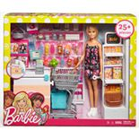 Barbie® Doll and Supermarket Playset