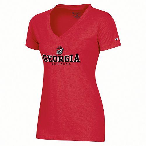 Women's Georgia Bulldogs Keyston Tee