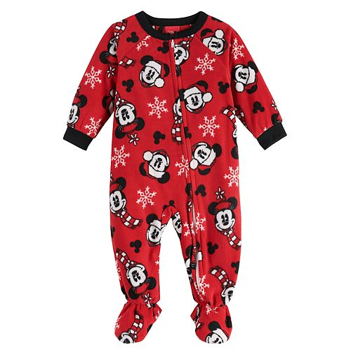 Disney's Mickey & Minnie Mouse Baby Footed Pajamas by Jammies For Your Families