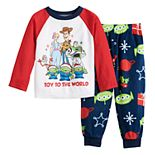 Disney / Pixar's Toy Story 4 Toddler Top & Bottoms Pajama Set by Jammies For Your Families