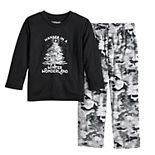 Toddler Jammies For Your Families Camo Family Tee & Pants Pajama Set