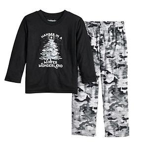 Toddler Jammies For Your Families Camo Family Tee & Pants Pajama Set