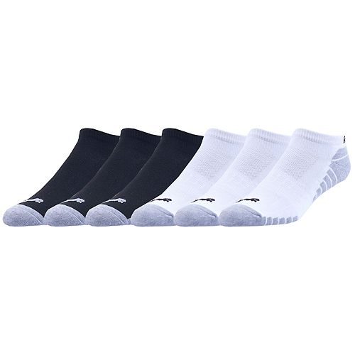 Men's PUMA 6-pack Performance Low-Cut Socks