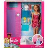 Barbie® Doll and Shower/Bathroom Accessories