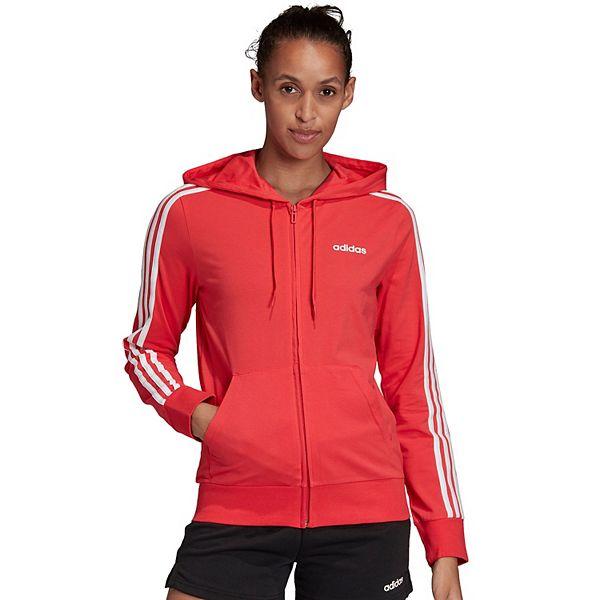 Women's adidas 3 Stripe Full Zip Hoodie