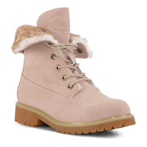 Lugz Convoy Fold Faux Fur Women's Winter Boots by Lugz
