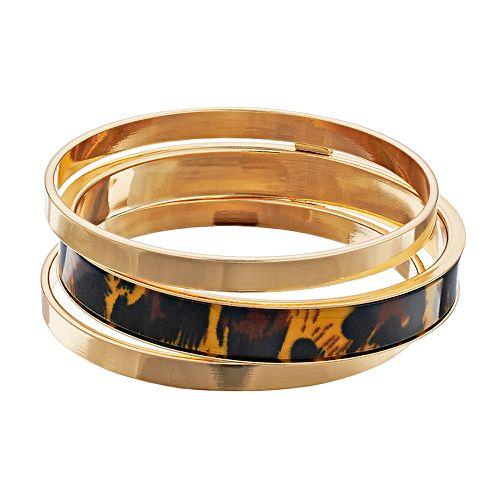 Nine West Bangle Bracelet Set