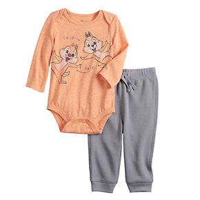 Disney's Chip & Dale Baby Bodysuit & Thermal Pants Set by Jumping Beans®