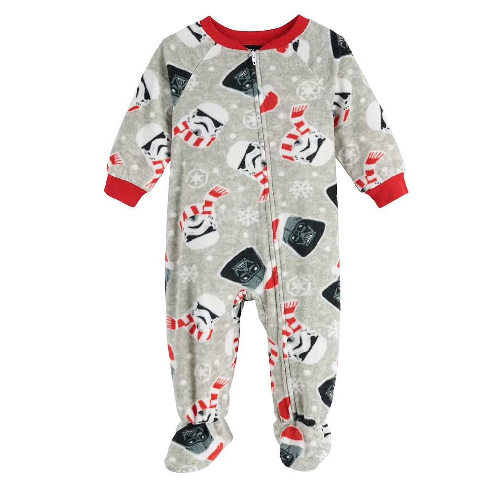 Baby Jammies For Your Families Star Wars Footed Pajamas